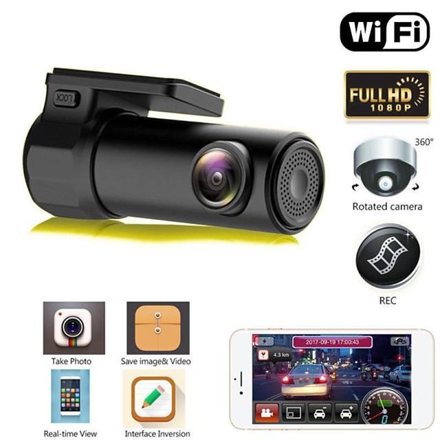 S600 HD 1280 x 720 / 1080p Vision nocturne DVR de voiture 170 Degrés Grand angle Aucun écran (sortie par APP) Dash Cam avec Vision nocturne / Surveillance du stationnement / Détection de Mouvement Non
