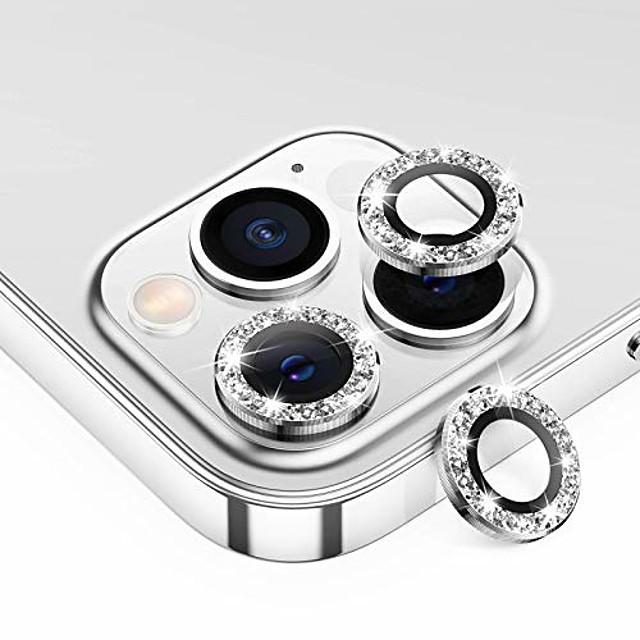 telefono Proteggi Schermo Per Apple iPhone 12 iPhone 11 iPhone 12 Pro Max iPhone 11 Pro iPhone 11 Pro Max Vetro temperato 2 pz Luminoso Anti-graffi Protezione dell'obiettivo della fotocamera