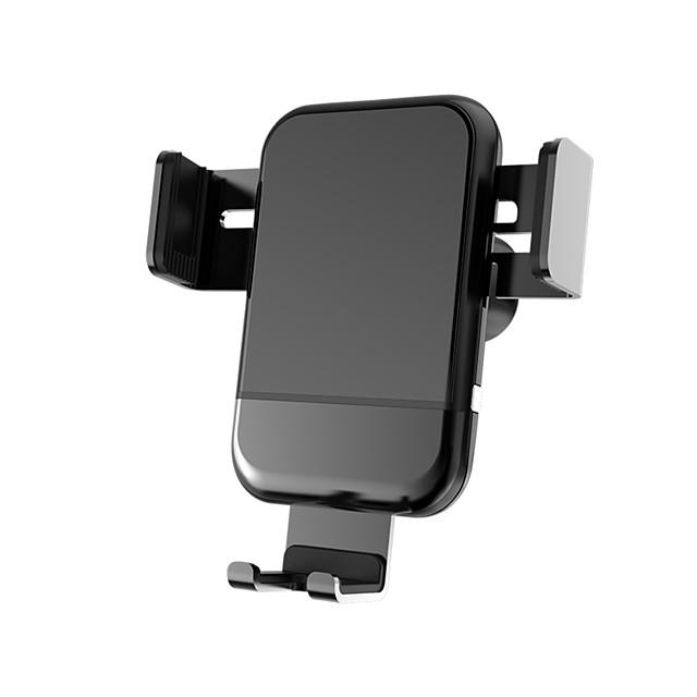 wafi staffa elettrica caricatore senza fili supporto per auto presa d'aria a gravità regolabile supporto per telefono per iphone samsung nexus huawei oneplus htc sony nokia e android smartphone qi