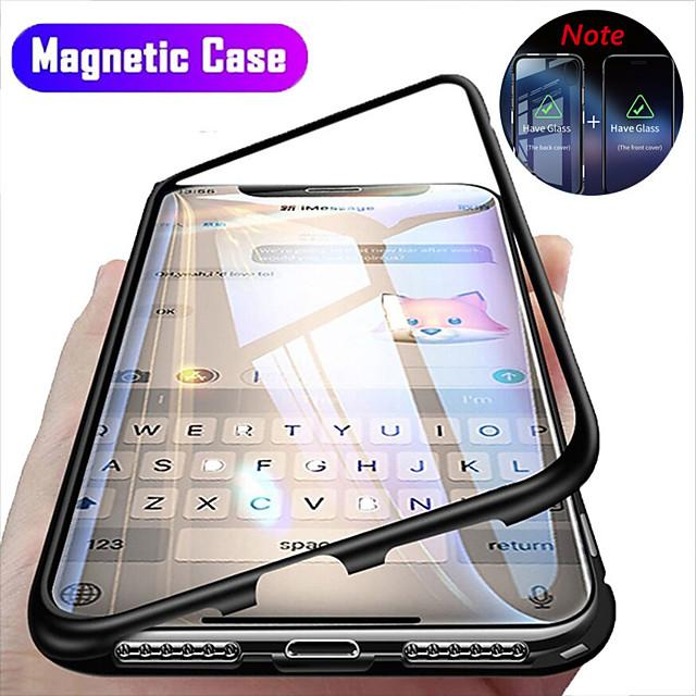 telefono Custodia Per Apple Integrale Custodia ad adsorbimento magnetico iPhone 12 Pro Max 11 SE 2020 X XR XS Max 8 7 6 Resistente agli urti Con chiusura magnetica Transparente Transparente Resistente
