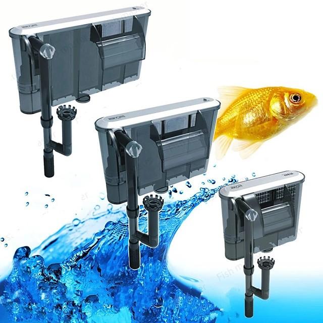 Acquari Acquario Filtri Aspirapolvere Regolabile Silenzioso Plastica Cotone Metallo 1 pc 220-240 V