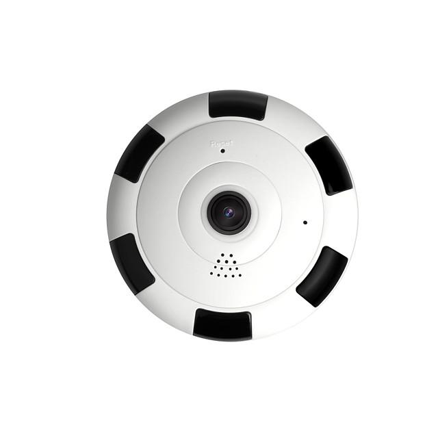 trasporto libero 1080p hd mini 360 gradi panoramica wifi wireless ip camera visione notturna fisheye cámara panorámica inalámbrica