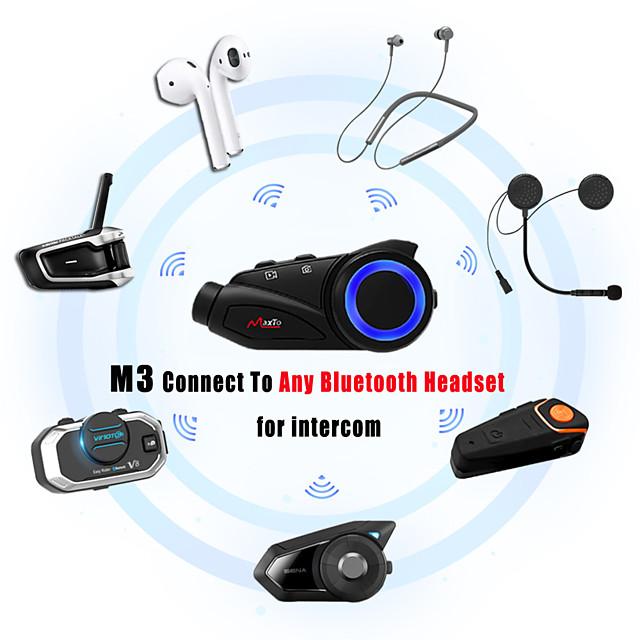 m2 אוזניות Bluetooth 5.0 קסדות