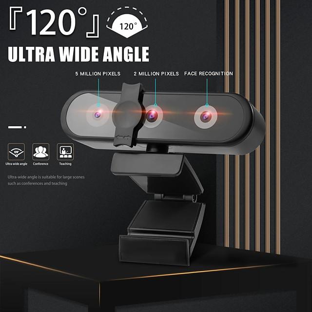 webcam full hd webcam computer pc web cam con riconoscimento facciale webcam messa a fuoco automatica per la trasmissione dal vivo di YouTube