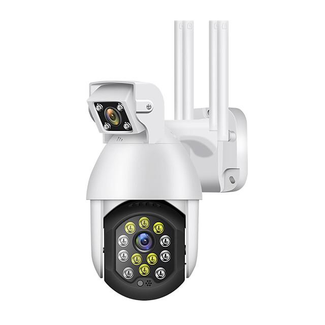 nuova telecamera ptz wifi da 3mp videosorveglianza ip per esterni doppia lente traccia automatica zoom 4x per la vita domestica intelligente icam365 monitor remoto