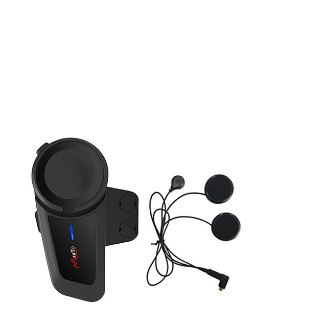 auricolare bluetooth casco interfono di gruppo può essere collegato a qualsiasi auricolare bluetooth auricolare stereo hifi maxto m2