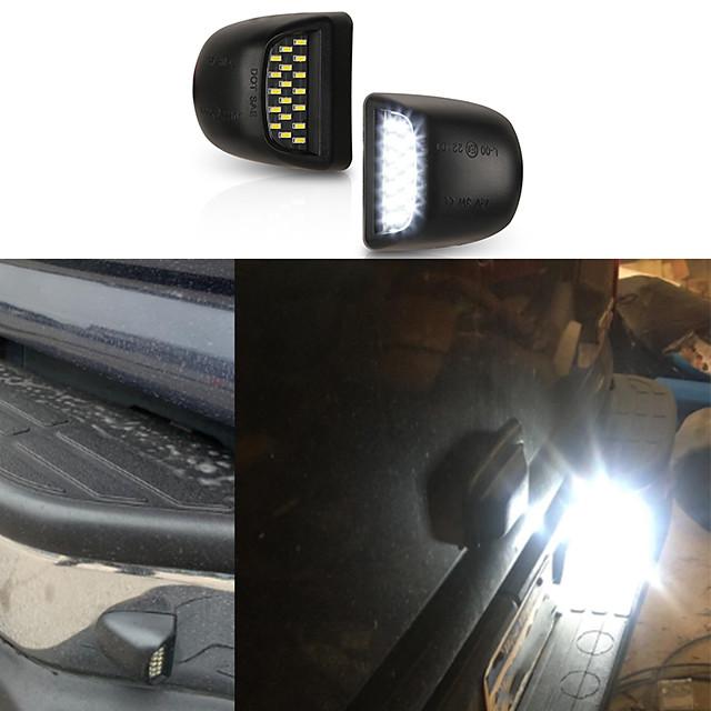 Otolampara 18w led éclairage de plaque d'immatriculation pour chevrolet avalanche 1999-2013 année haute luminosité lumineuse ip67 étanche oem design lampe de plaque d'immatriculation pour chevrolet 2