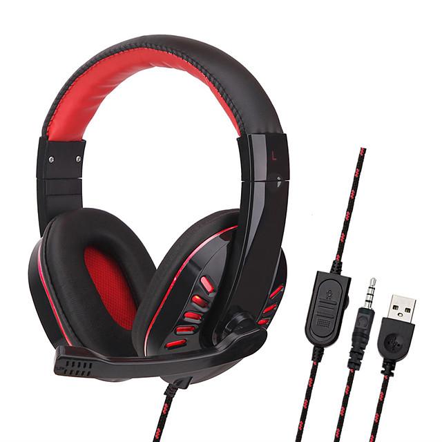 SOYTO SY755MV אוזניית משחקים שקע שמע 3.5 מ
