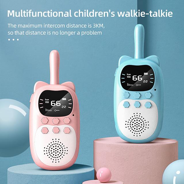 DJ200 Talkie walkie Portable Etanche Verrou à clé Lampe Torche Radio bidirectionnelle 1,5 - 3 km 1,5 - 3 km