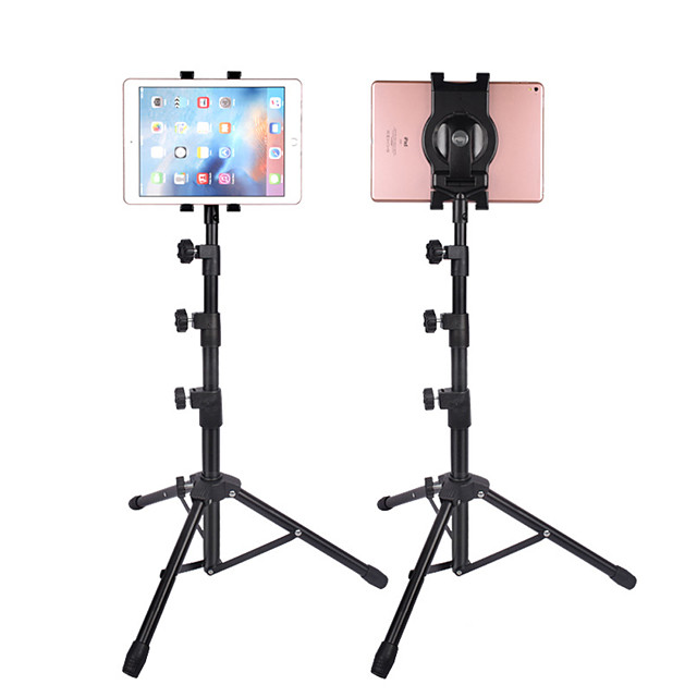 Phone Holder Stand Mount Bed Adjustable Stand Phone Holder Phone Tripod Stand Adjustable 360°Rotation Aluminum Alloy Phone Accessory iPhone 12 11 Pro Xs Xs Max Xr X 8 Samsung Glaxy S21 S20 Note20