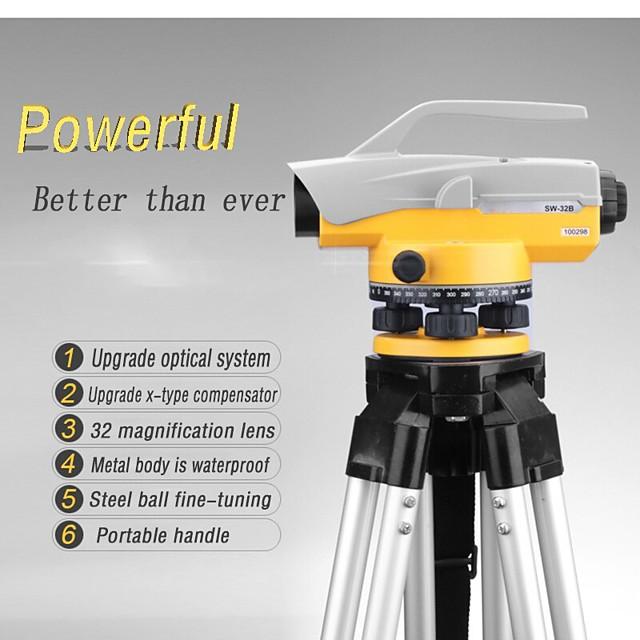 LITBest SW-32A Misuratore di distanza laser 64m Impermeabile A prova di sporco Facile da usare per l'installazione di mobili per la misurazione della casa intelligente per la misura ingegneristica