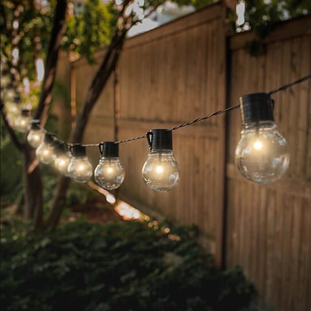 guirlande solaire led 6m 30 ampoules guirlande de mariage en plein air guirlande de fleurs de jardin étanche à énergie solaire pour la mise en page de fête de mariage de noël lampe de décoration de