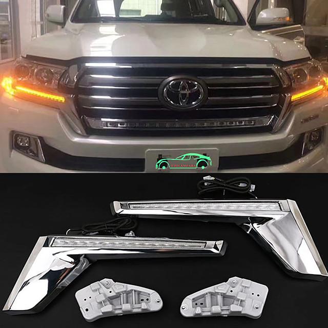 otolampara auto led indicatori di direzione lampadine lampadine smd led 20 w 2 per toyota 2018/2016/2017 2 pezzi