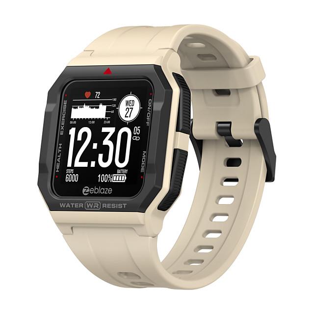 Zeblaze Ares Inteligentny zegarek EKG + PPG Krokomierz Powiadamianie o połączeniu telefonicznym Wodoodporny Ekran dotykowy GPS 46mm etui na zegarek na Android iOS Mężczyźni Kobiety / Pulsometry