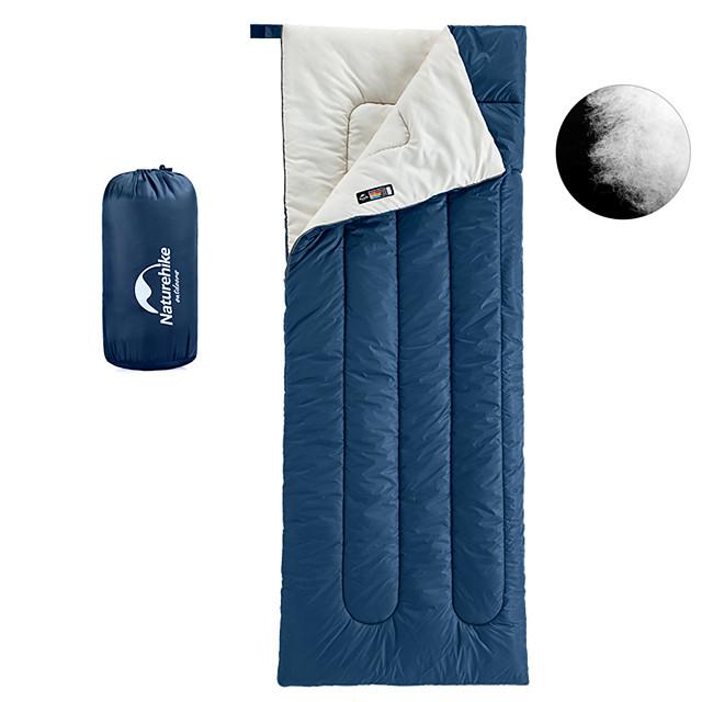 Randonnée nature Sac de couchage De plein air Camping Rectangulaire pour Adultes 18~25 °C Simple Coton T / C Etanche Chaud Ultra léger (UL) Respirable Respectueux de la peau 205*85 cm Printemps Eté