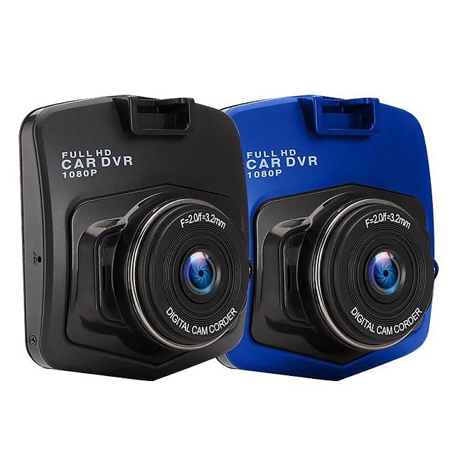 Voiture dvr dashcam caméra 2.4 pouces fhd 1080p enregistreur vidéo g-sensor vision nocturne moniteur de stationnement caméscope automatique enregistreur