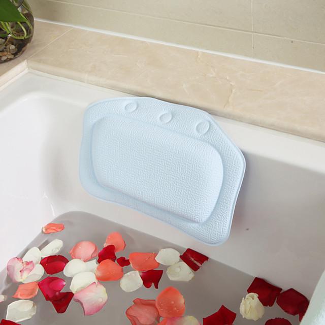 e-commerce transfrontalier salle de bain oreiller pvc mousse éponge baignoire oreiller baignoire oreiller hôtel bain appui-tête Vente en gros