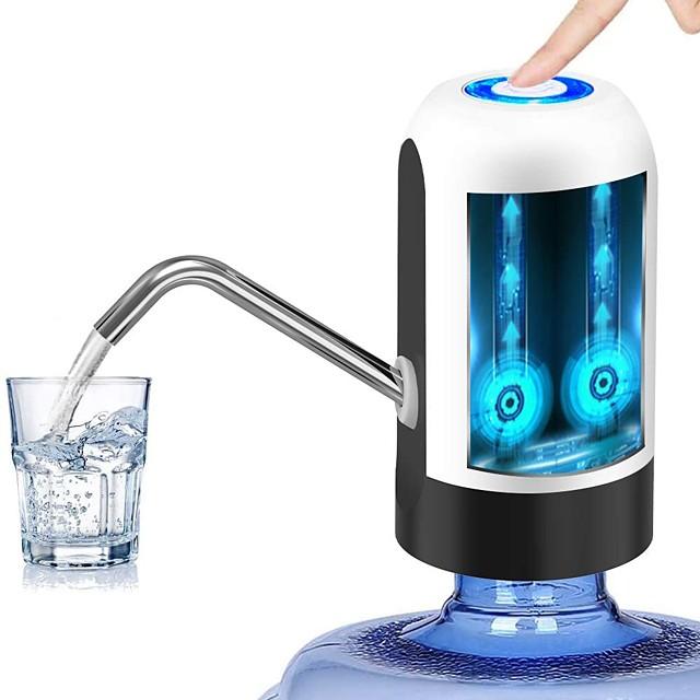 pompă de sticlă de apă usb de încărcare pompă automată de apă potabilă distribuitor de apă electric portabil dispozitiv de pompare sticlă de apă