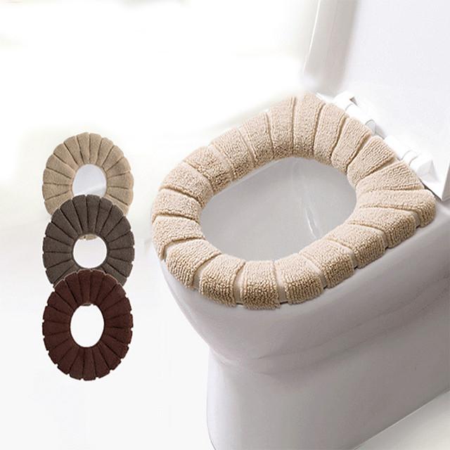 coussin de siège de toilette multicolore citrouille transfrontalière siège de toilette lavable siège de toilette de toilette épaissi coussin de siège de toilette automne et hiver