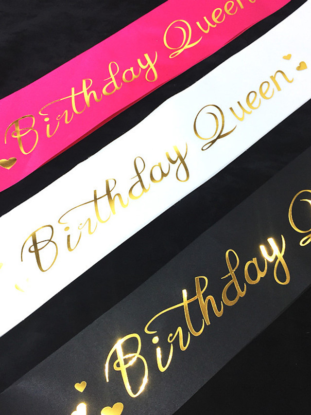 파티 / 생일 파티 액세서리 신부 새시 패턴 의류 데님 클래식 테마 / 생일 / 문자