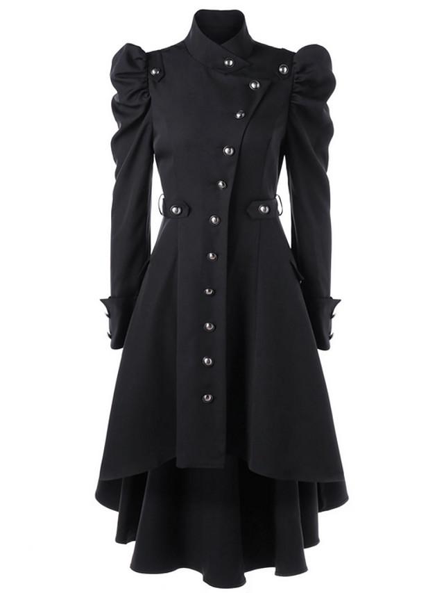 Docteur de la peste Costume Adultes Femme Effrayant Costumes de cosplay Combinaison Mélange de Coton