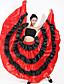 abordables Survêtements-Danse latine Jupes Ruché Combinaison Femme Utilisation Taille basse Spandex