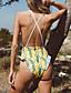 abordables Cérémonie de Mariage-Normal Polyester Maillots de bain et Bikinis Sexy Fleur Usage quotidien Imprimé