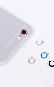 """protecteur de lentille métallique pour iphone 4 de 7,7 """"samsung galaxy s8 s7 6"""
