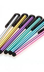 6 x clip stylo écran tactile capacitif stylet universel en métal pour téléphone mobile tablette iphone / ipad / samsung