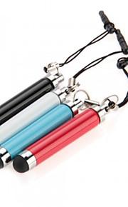kinston® 4 x rétractable stylet tactile capacitif avec anti-crépuscule fiche des écouteurs pour iPhone / iPad / Samsung et d'autres