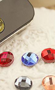 Sticker en résine à la maison pour iphone 8 7 samsung galaxy s8 s7 (couleur aléatoire)