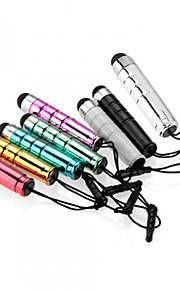 szkinston balle capacitif stylet 8-en-1 avec un stylo enfichables métaux anti-crépuscule capacité pour iphone / ipod / ipad / samsung et