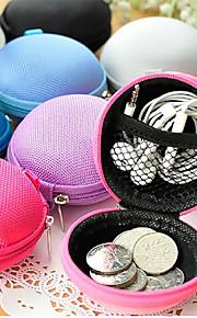 de haute qualité sac de transport écouteurs dur boîte de rangement boîtier portable pour écouteurs pour usb carte sd