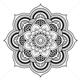 Mandala-mønster