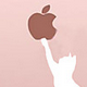 Con logo Apple