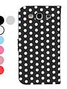 Na Samsung Galaxy Etui Z podpórką / Flip / Wzór Kılıf Futerał Kılıf Geometryczny wzór Skóra PU Samsung S3