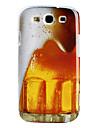 Øl Mønster Hard Case for Samsung Galaxy S3 I9300