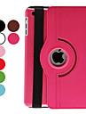 Etui Til Apple iPad Mini 3/2/1 360° rotasjon / med stativ / Autodvale / aktivasjon Heldekkende etui Ensfarget PU Leather