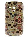 wzór czaszka twardy futerał do Samsung Galaxy i8190 mini s3