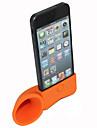 rocznika róg kształcie stojak żel krzemionkowy do iPhone (różne kolory)