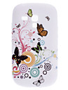 elegancki wzór motyl etui do Samsung Galaxy i8910 mini s3