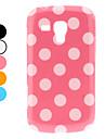 Stylowy wzór kropki etui do Samsung Galaxy trendu duetów s7562 (różne kolory)