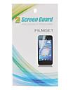 HD Screen Protector z ściereczka do czyszczenia Samsung Galaxy Gio S5660
