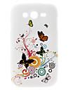Elegancki Wzór Butterfly Hard Case do Samsung Galaxy Wielkiego duetów I9082