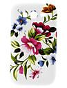 Big Wzór Flower Hard Case do Samsung Galaxy Wielkiego duetów I9082