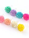Multilayer Flower Plastic Anti-kurz Gniazdo słuchawkowe (Assorted Color)