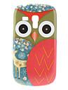 Red Owl Wzór Hard Case do Samsung Galaxy S3 Mini I8190