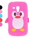 Projektowanie 3D Wzór Penguin futerał do Samsung Galaxy Trend Duos S7562 (różne kolory)