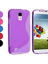 Czysta Kolor TPU pokrowiec do Samsung Galaxy S4 I9500 (Assorted Color)