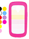 Kolorowe Transparent Projekt Hard Case do Samsung Galaxy S3 mini I8190 (różne kolory)